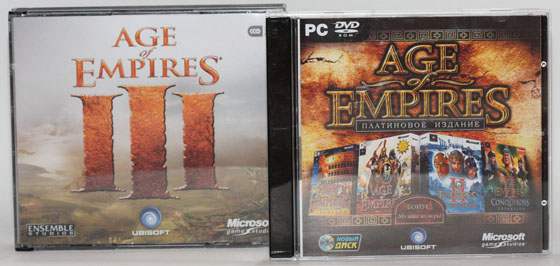Age of Empires and Age of Empires II collection плюс Age Of Empires III