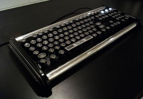 Стимпанк-клавиатура от Datamancer'а