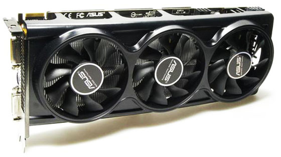 Видеокарта AMD Radeon HD4870X2 производства ASUS