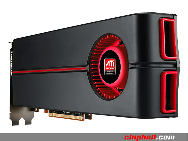 AMD Radeon HD 5870X2 back