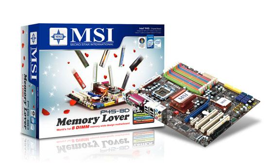 """MSI P45 8D """"Memory Lover"""""""