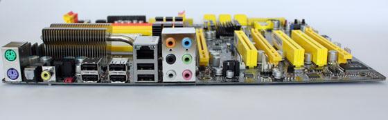 Обратная сторона DFI Lanprty DK 790FXB-M3H5