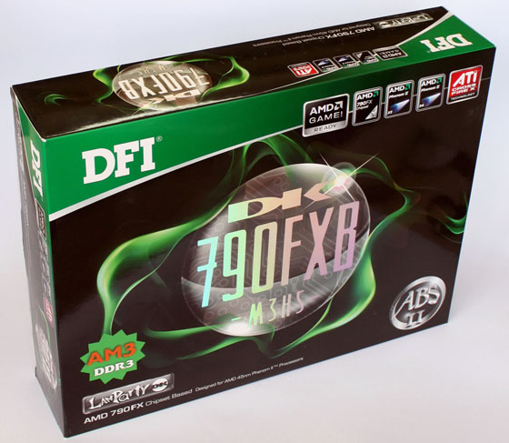 Коробка с DFI Lanprty DK 790 АЧИ-Ь3Р5