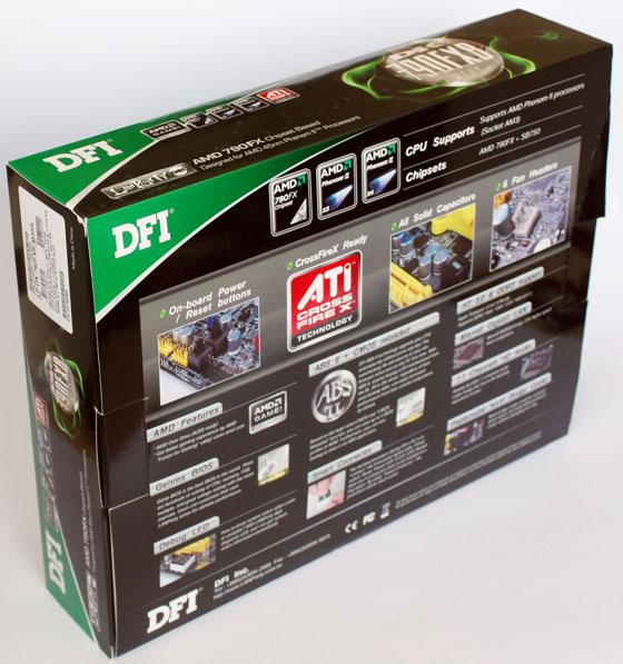 Коробка с DFI Lanprty DK 790 АЧИ-Ь3Р5 вид сзади
