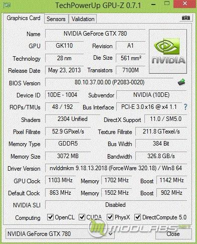ZOTAC GeForce GTX 780