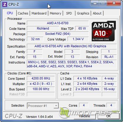 Обзор процессора AMD A10-6700
