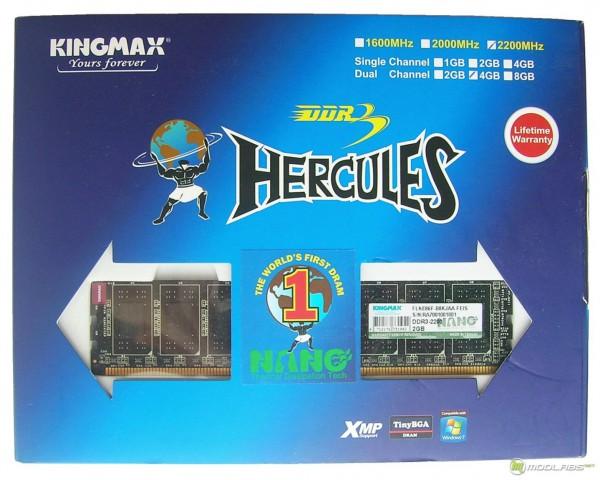 Kingmax Hercules Nano TDT DDR3-2200