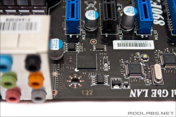 Контроллеры на материнской плате MSI 890FXA-GD70