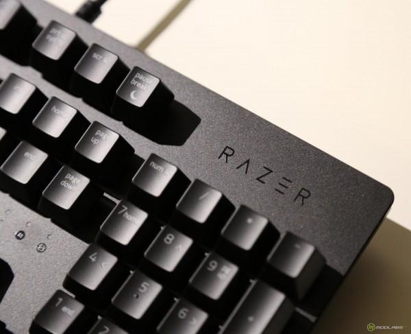 Razer Huntsman, вид на клавиши