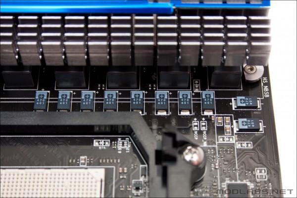 Подсистема питания MSI 890FX-GD70