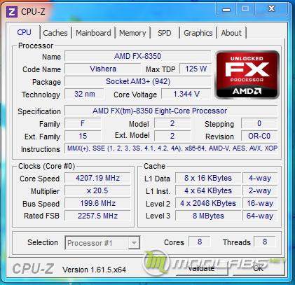 Процессор AMD FX-8350