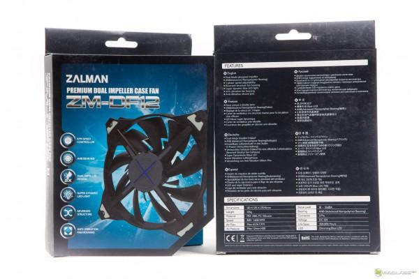 Zalman ZM-DF14BL и Zalman ZM-DF12
