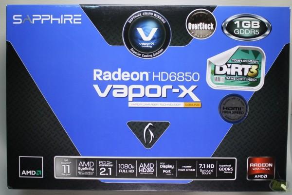 Radeon HD 6850 box front