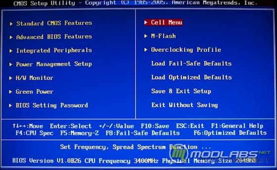 BIOS материнской платы MSI 890FXA-GD70