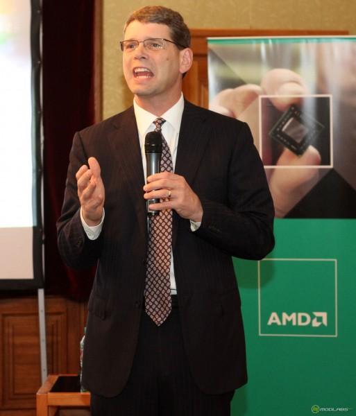 10 лет AMD. Рори Рид в Москве