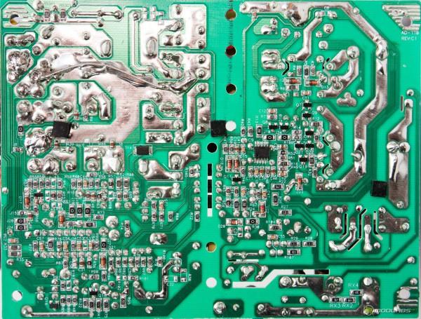 Hyper K700 pcb full view