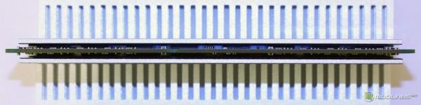 Качество прижима рассеивающих пластин к чипам памяти Kingmax DDR-3