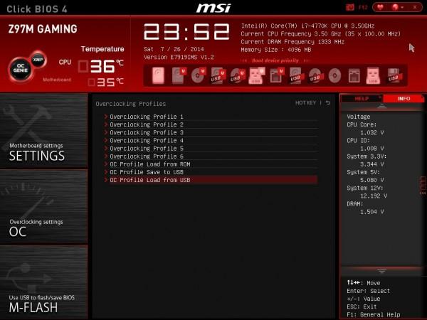 MSI Z97M GAMING