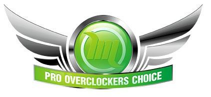 Награда Pro Overclockers Choice на Modlabs.net