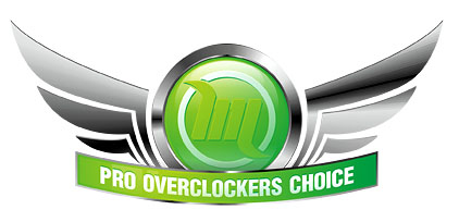 Награда Pro Overclockers Choice Modlabs Lab