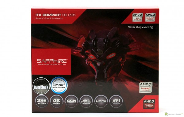 SAPHIRE R9 285 COMPACT