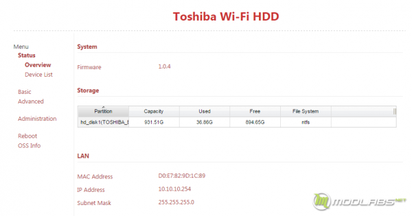 Toshiba Canvio AeroCast