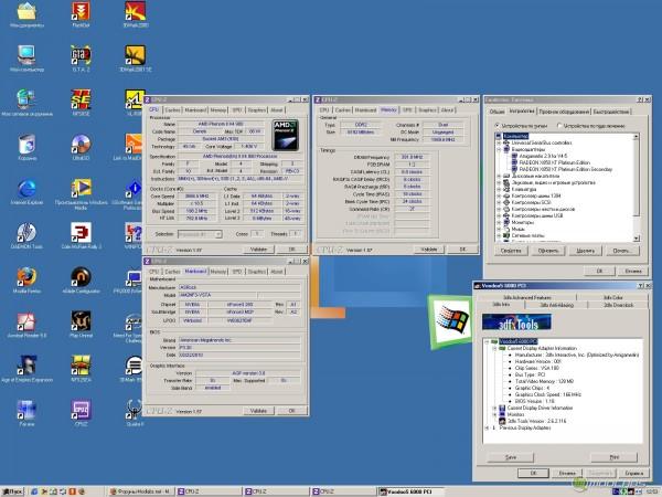 zx-c64 Voodoo 5 6000 PCI Testing Platform