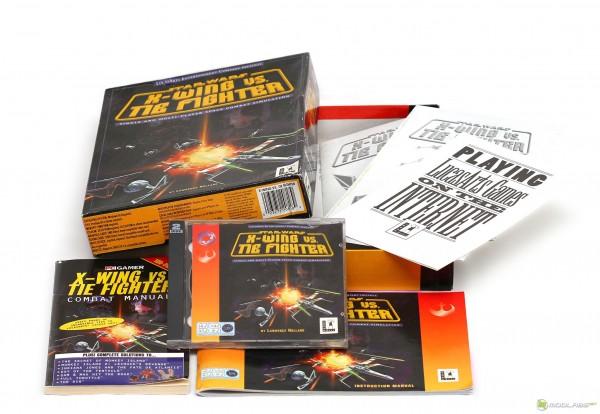 Компьютерная игра X-Wing vs Tie-Fighter. Коробочная версия, 2 CD