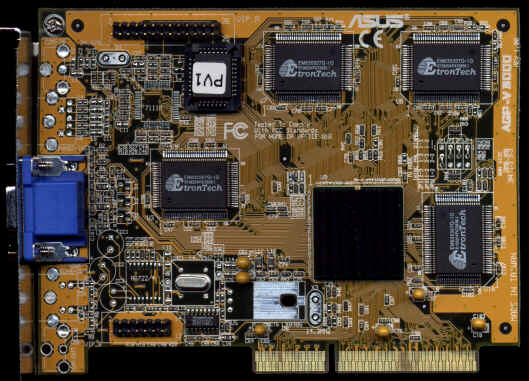 AGP ASUS 3DExPlorer V3000 4MB