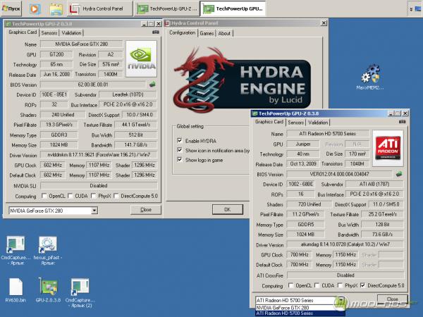 Технология Lucid Hydra в работе