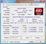 Cpu-z Разгон AMD A10-5800K