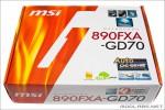 Коробка материнской платы  MSI 890FXA-GD70