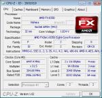 Результаты разгона AMD FX 8350 Vishera