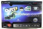 Sapphire Radeon HD 6870 Dirt3 Edition box front