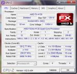 Скриншот CPU-Z с AMD FX-41004130