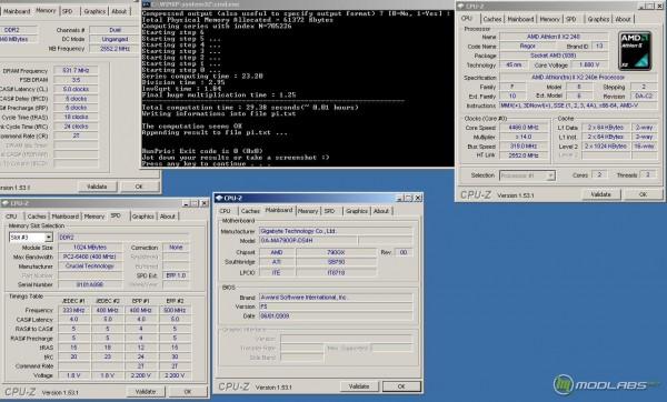 Athlon x2 240e Pi fast