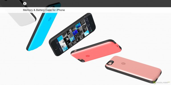 KUNER Classic Battery and Memory Case for iPhone 6