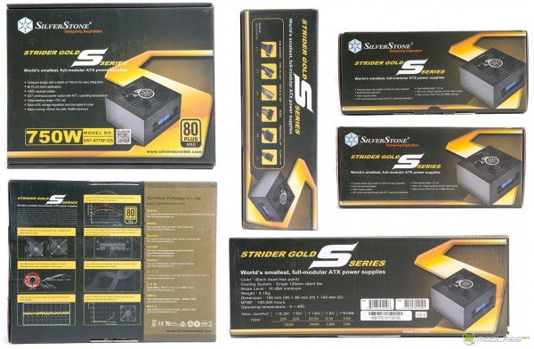 SILVERSTONE STRIDER GOLD SST ST75F-GS V2