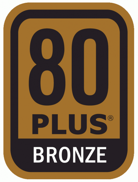 80 PLUS Bronze logo