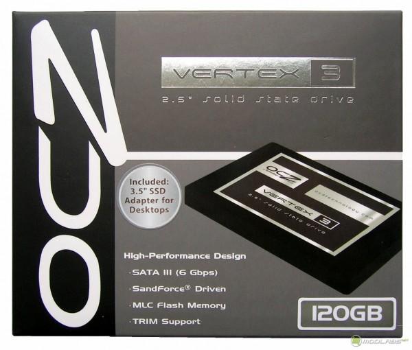 OCZ Vertex3 SSD - box - front