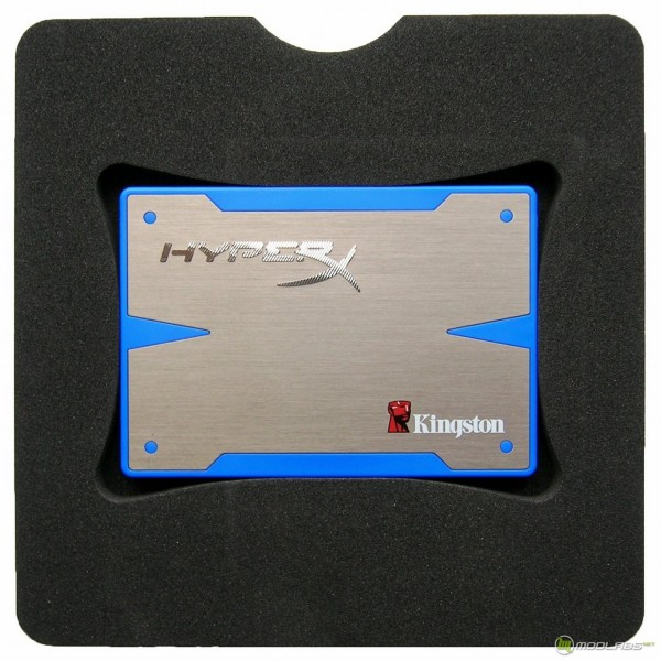 Kingston HyperX SSD - box - inside - front