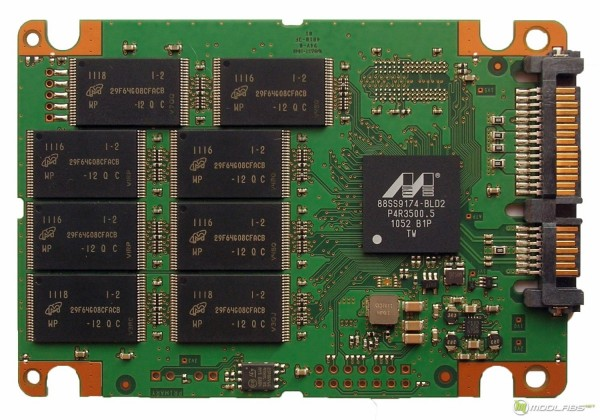 Crucial m4 128Gb - PCB - front