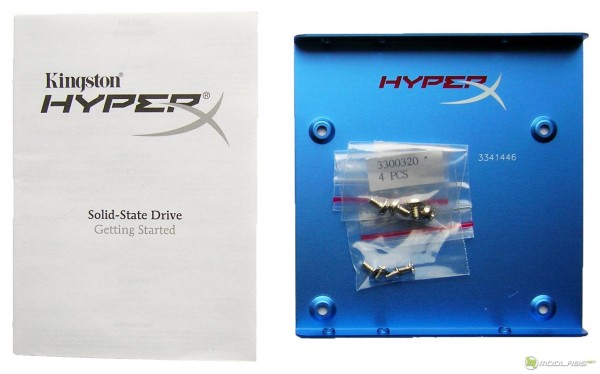 Kingston HyperX SSD - package