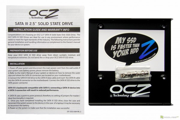 OCZ Vertex3 SSD - package