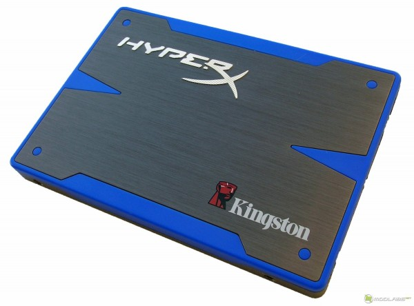 Kingston HyperX SSD - front
