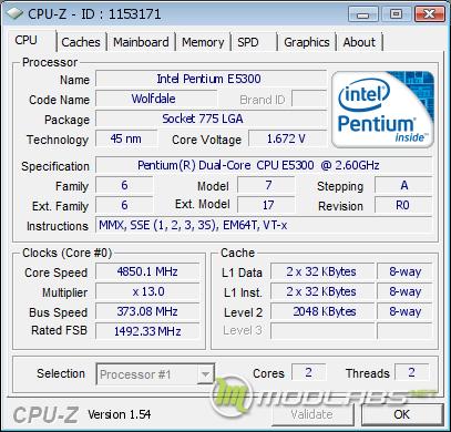 Разгон Core 2 Duo E5300