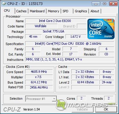 Разгон Core 2 Duo E8200