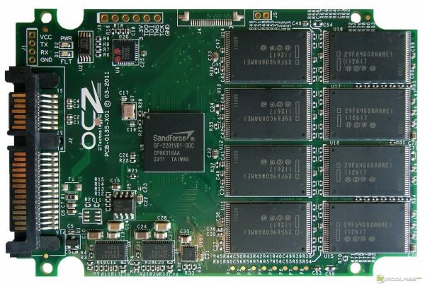 OCZ Vertex3 SSD - PCB - front