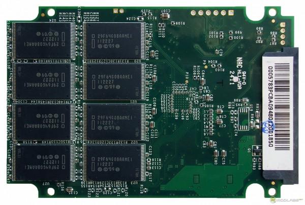 OCZ Vertex3 SSD - PCB - back