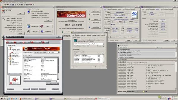 Результаты тестирования All-in-Wonder Radeon DDR 32 Мбайт